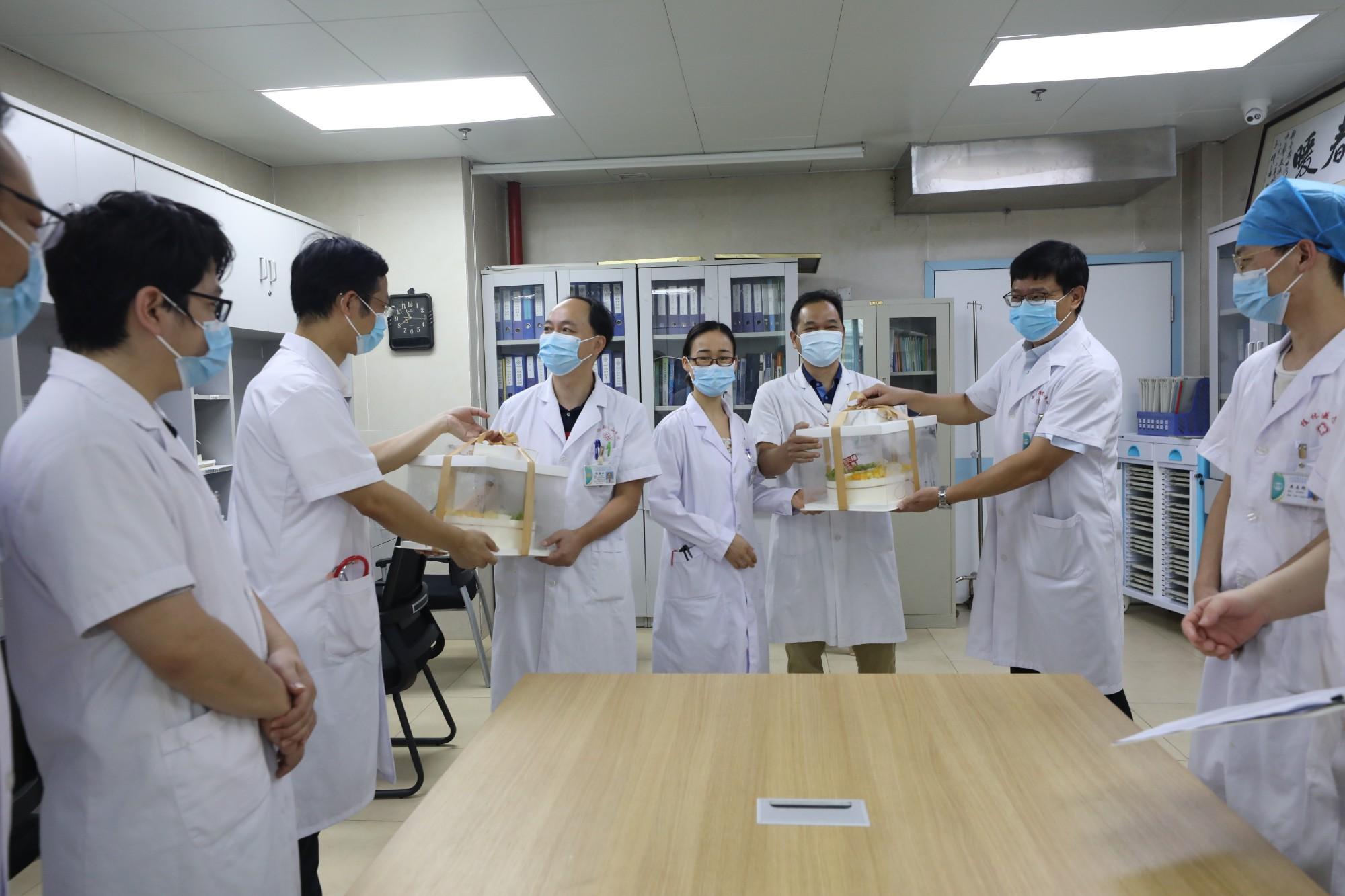 自治区南溪山医院开展医师节慰问活动